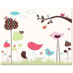 Bird Valley Art Print
