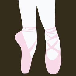Ballet Shoes Wall Decal