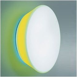 Conca Wall or Ceiling Lamp Optional Filters