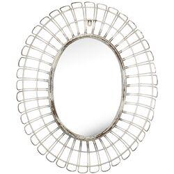 French Chic Garden Metal & Glass Mirror