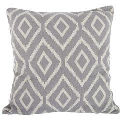 Ekra Cashmere Blend Throw Pillow in Grey