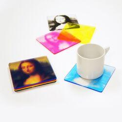 CMYK Printed Coasters