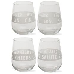 Viva Scandinavia Stemless Wine Glass