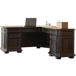 Riverside Furniture Seville Square L Shape Computer Desk