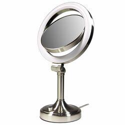 symple stuff portable makeup shaving mirror reviews wayfair. Black Bedroom Furniture Sets. Home Design Ideas