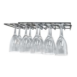 Epicureanist Under Cabinet 15 Wine Glass Rack