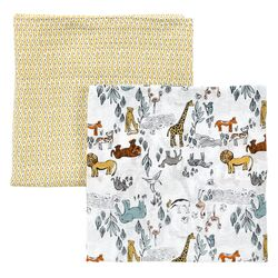 Safari Swaddle Blanket