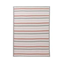 Blossom Stripe Knit Blanket