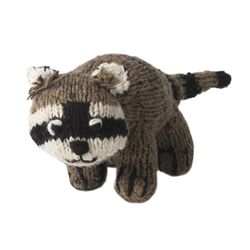 Large Raccoon Plush Toy