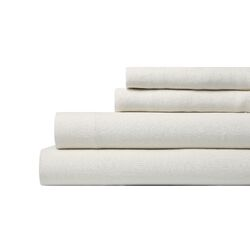 Linen Pearl Sheet Set