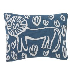 Safari Knit Boudoir Pillow