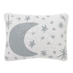 Galaxy Dusk Knit Boudoir Pillow