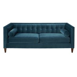 Tufted Sofa in Teal
