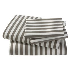 DwellStudio-Ash Draper Stripe French Back Pillow Cases