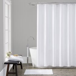 Cotton Chevron Shower Curtain