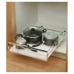 20-inch Pull-Out Cabinet Organizer, Heavy Gauge Steel