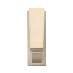 Classico One Light Wall Sconce in Satin Nickel