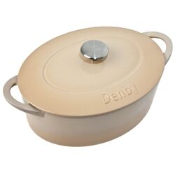 Cook and Dine Barley 4.2L Oval Casserole