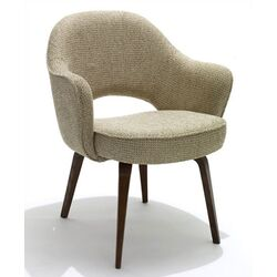 Knoll -Saarinen Arm Chair with Wood Legs