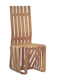 Frank Gehry High Sticking Side Chair