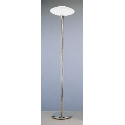Ovo Floor Lamp in Polished Nickel