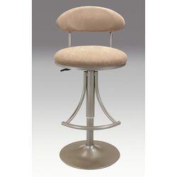 Adjustable Height Swivel Bar Stool with Cushion