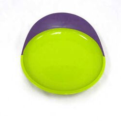 Catch Bowl with Spill Catcher in Kiwi / Grape