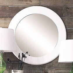 Uptown MDF Round Mirror