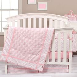 Pink Sky Crib Bedding Collection
