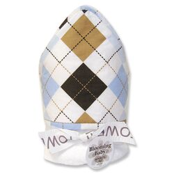 Prep School Blue Blooming Bouquet Hooded Towel