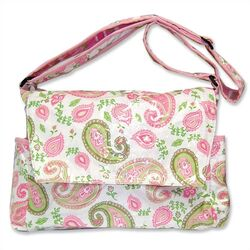 Paisley Park Messenger Diaper Bag