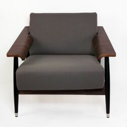 Sean Dix Single Seater Dowel Fabric Lounge Chair