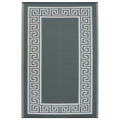 World Athens Olive Green/Cream Rug