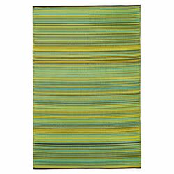 World Cancun Lemon/Apple Indoor/Outdoor Rug