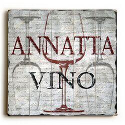Annatta Vino Wall Art