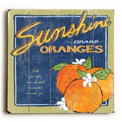 Sunshine and Oranges Wall Art