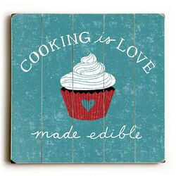 Cooking is Love Wall Art