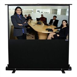 01-EVPVP3460 Porta-Vu Traveller Portable Projection Screen - 34 x 60