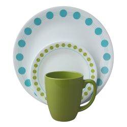 Livingware South Beach 16 Piece Dinnerware Set