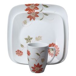 Square Matilda 16 Piece Dinnerware Set
