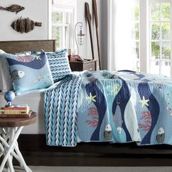 Sealife Quilt Set