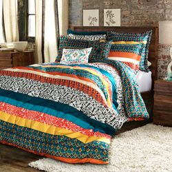 Boho Stripe Bedding Collection