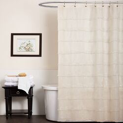 La Sposa Polyester Shower Curtain by Lush Decor