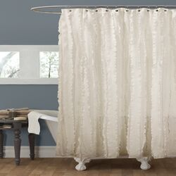 Polyester Shower Curtain by Lush Decor
