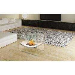 Glass Bio-Ethanol Fire Pit Table