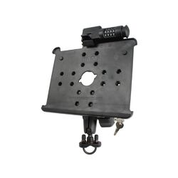 Handlebar / Rail Mount with Locking Arm and Locking Cradle for the Apple iPad and ...