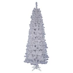 6.5' White Pine Artificial Christmas Tree with Stand
