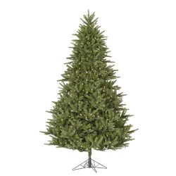 Berkshire 6.5' Green Fir Artificial Christmas Tree with 600 LED White Lights