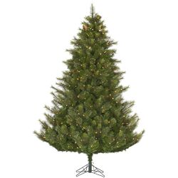Modesto 10' Green Pine Artificial Christmas Tree with 1350 Clear Lights