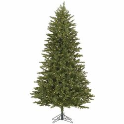 Slim Balsam 4.5' Green Fir Artificial Christmas Tree with 200 LED White Lights